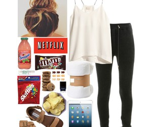 clothes, comfy, and Polyvore image