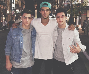 steven kelly, grayson dolan, and ethan dolan image