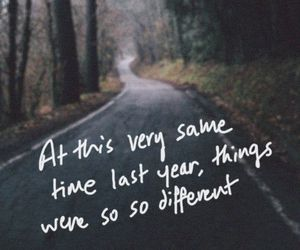 quote, different, and time image