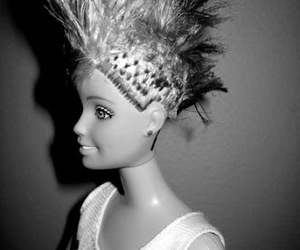 barbie, punk, and grunge image