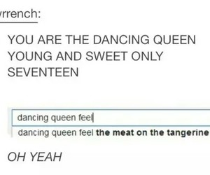 Abba, song, and dancing queen image