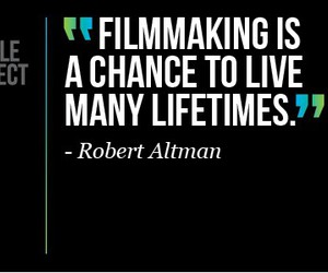dream job, filmmaking, and quote image