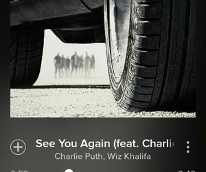 see you again, music, and paul walker image