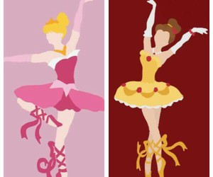 ballet, disney, and princess image