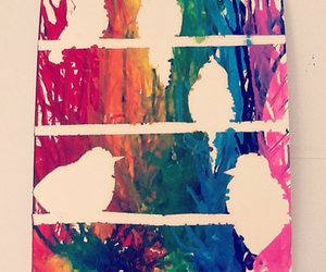 craft, crayon, and crayon art image