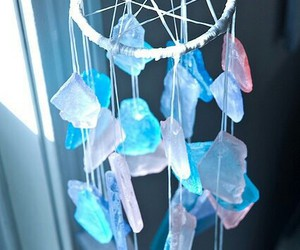 blue, crystal, and Dream image
