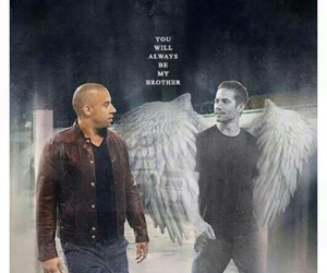 paul walker, Vin Diesel, and brothers image