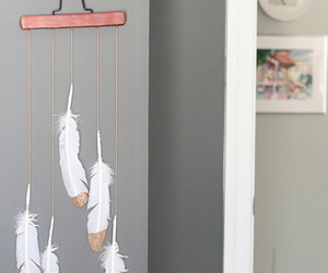 crafts, diy, and feather image