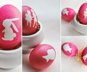 easter, diy, and eggs image
