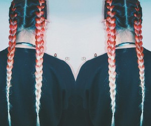 alternative, braid, and braids image