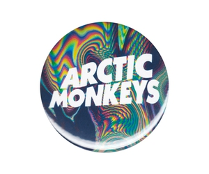 arctic monkeys, badge, and button image