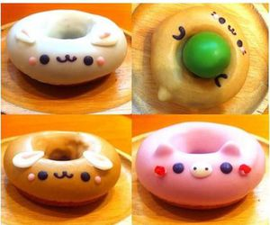 donuts and animal image
