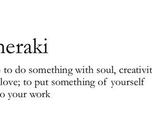 Meraki, creativity, and soul image