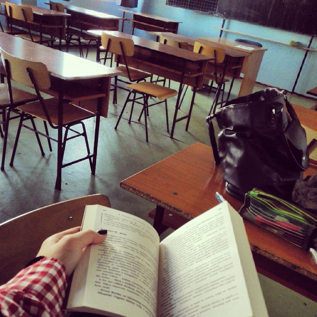book, reading, and school image