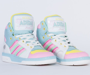 shoes, adidas, and pastel image