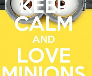 keep calm and minions image