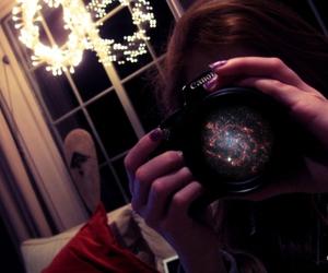camera, canon, and night image