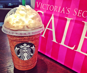 beautiful, blonde, and frappuccino image