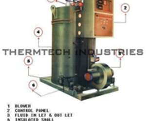 thermic fluid heater, non ibr steam boiler, and boiler exporters india image