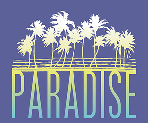 wallpaper, paradise, and blue image