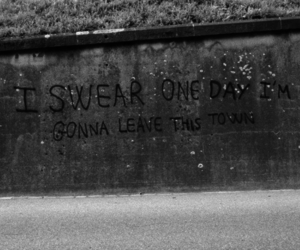 leave, photography, and swear image