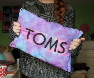 toms, pillow, and tumblr image