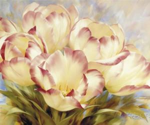 igor levashov and champagne red tulips image