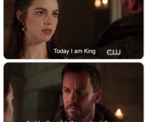 king, the cw, and queen mary image