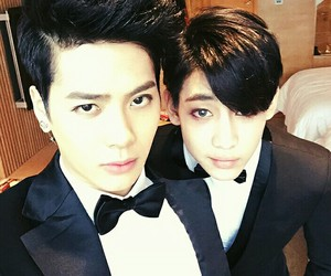 got7, jackson, and bambam image