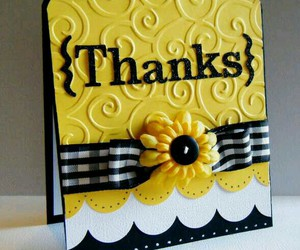 sunflower, cards, and thank you cards image