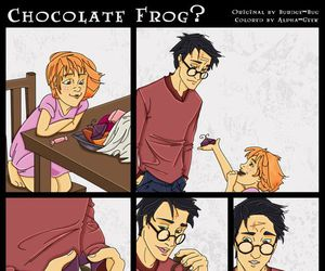 harry potter and chocolate frog image