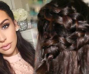 beautiful, style, and hair image