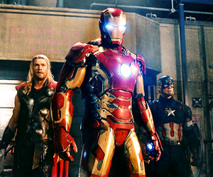 Avengers, iron man, and thor image
