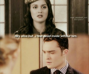 blair waldorf, chuck bass, and chair image