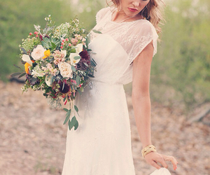 bouquet, bridal, and classic image