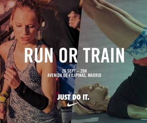 running, workout, and nike women image