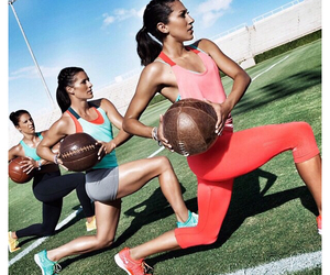 workout and nike women image