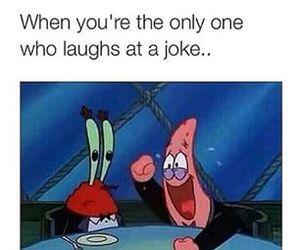 funny, joke, and spongebob image