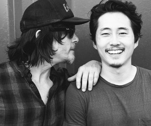 the walking dead and steven yeun image
