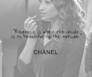 quote, chanel, and elegance image