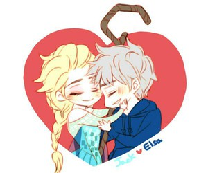 jelsa and cute image