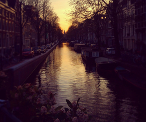 amsterdam, city, and holiday image