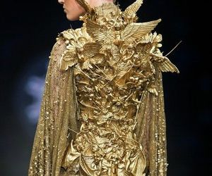 golden dress image
