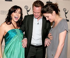 cobie smulders, how i met your mother, and Barney Stinson image