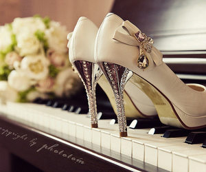 shoes, piano, and heels image