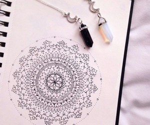 art and necklace image