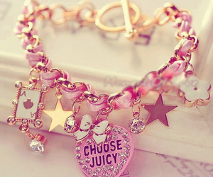 pink, bracelet, and accessories image