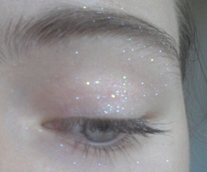 pale, glitter, and grunge image