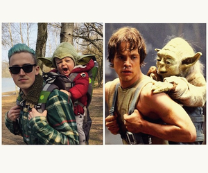 funny, McFly, and yoda image