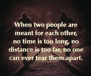 couple, distance, and life image